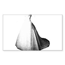 Gown Rectangle Decal