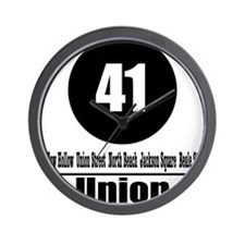 41 Union (Classic) Wall Clock