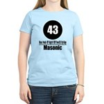 43 Masonic (Classic) Women's Light T-Shirt