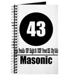 43 Masonic (Classic) Journal