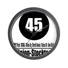 45 Union-Stockton (Classic) Wall Clock
