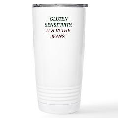 Gluten Sensitivity: It's In The Jeans Travel Mug
