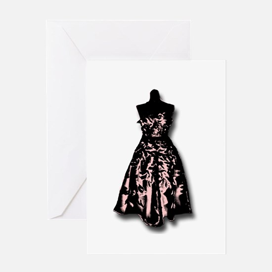 Gown Greeting Card