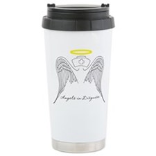 Angels in Disguise Travel Coffee Mug
