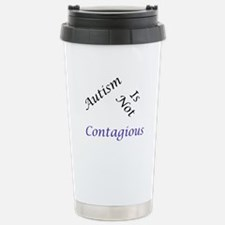 Autism Is Not Contagious Stainless Steel Travel Mu