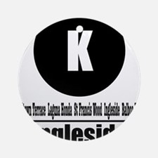 K Ingleside (Classic) Ornament (Round)