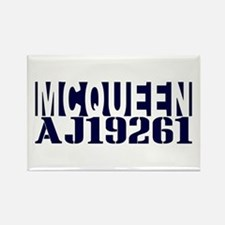 McQUEEN AJ19261 Rectangle Magnet