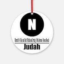 N Judah (Classic) Ornament (Round)