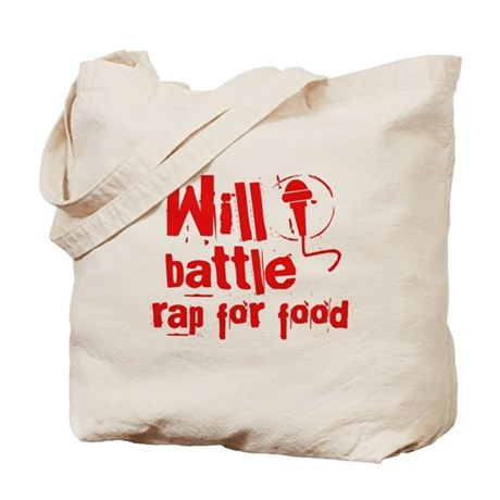 Will battle rap for beer Tote Bag