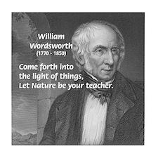 William Wordsworth Tile Coaster