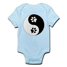Yin Yang Paws Infant Bodysuit