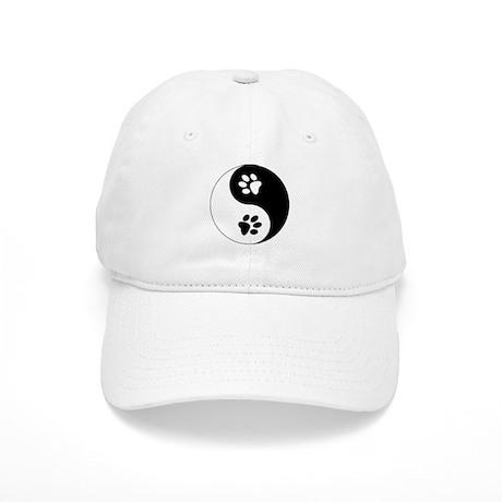 Yin Yang Paws Cap