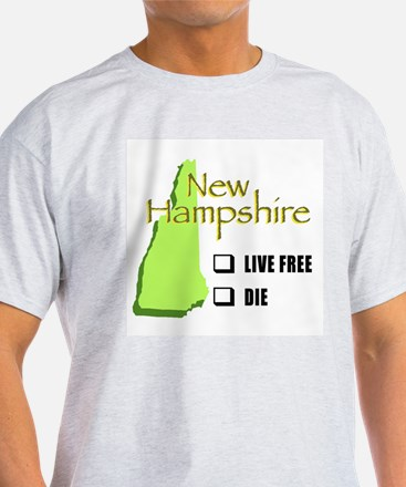 Live Free or Die New Hampshire T-Shirt