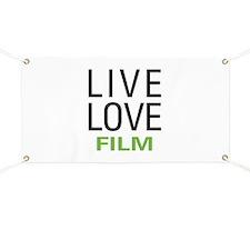 Live Love Film Banner
