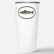 Atlantic Salmon Fishing Stainless Steel Travel Mug