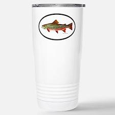 Trout Fishing Stainless Steel Travel Mug