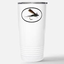Fly Fishing Stainless Steel Travel Mug