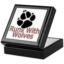 Runs With Wolves Keepsake Box