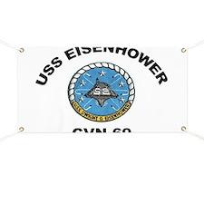 USS Eisenhower CVN-69 Banner