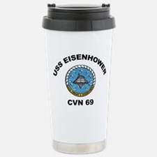 USS Eisenhower CVN-69 Travel Mug