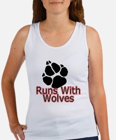 Runs With Wolves Women's Tank Top