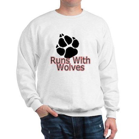 Runs With Wolves Sweatshirt