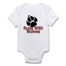 Runs With Wolves Infant Bodysuit