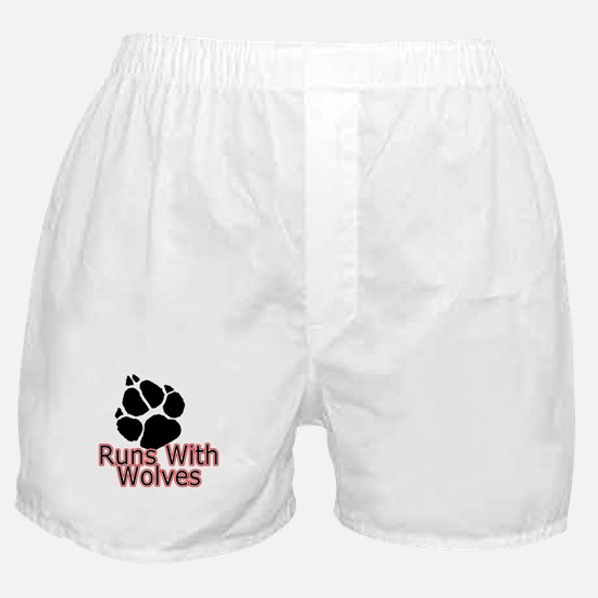 Runs With Wolves Boxer Shorts