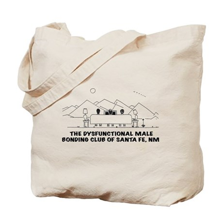 Dysfunctional Male Bonding Tote Bag