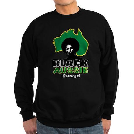 Black Aussie Sweatshirt (dark)