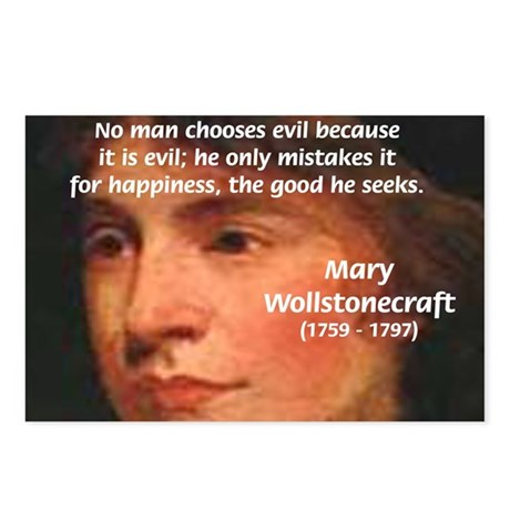 Feminist Mary Wollstonecraft Postcards (Package of