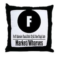 Funny Bottledwalter Throw Pillow