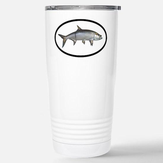 Tarpon Fishing Stainless Steel Travel Mug