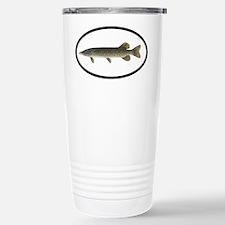 Pike Fishing Stainless Steel Travel Mug