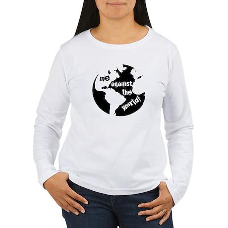 Me against the World Women's Long Sleeve T-Shirt