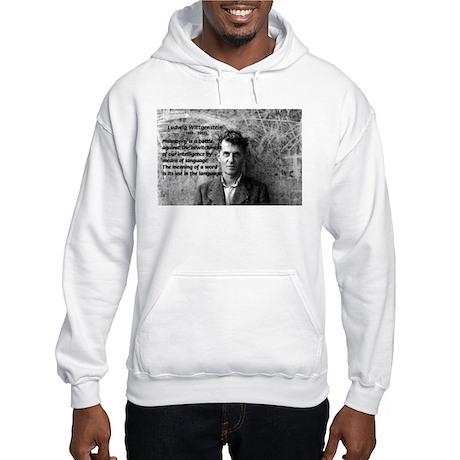 Ludwig Wittgenstein Hooded Sweatshirt