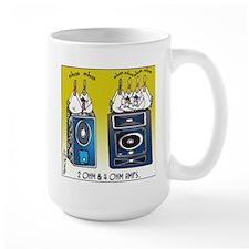 2 Ohm and 4 Ohm Amps Mug