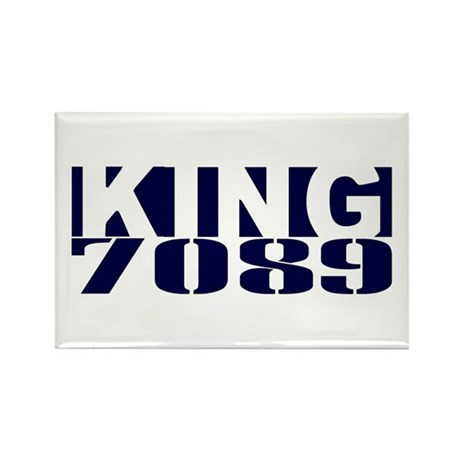 KING 7089 Rectangle Magnet (100 pack)