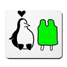 Penguin Love Mousepad
