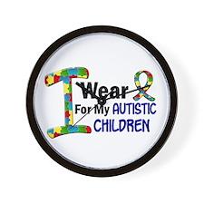 I Wear Puzzle Ribbon 21 (Children) Wall Clock