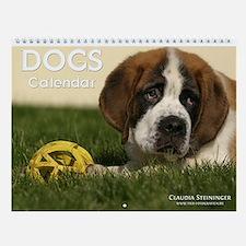 Dogs Wall Calendar