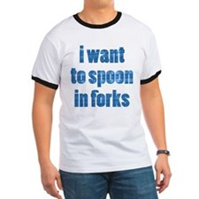 'I want to spoon in Forks' T