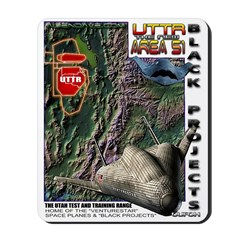 UTTR Deep Black Mousepad