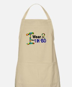 I Wear Puzzle Ribbon 21 (1 In 150) BBQ Apron