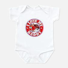 I Love my Daddy (Fire) Infant Bodysuit