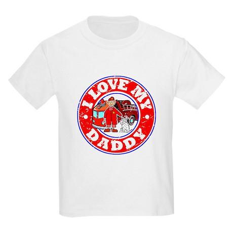 I Love my Daddy (Fire) Kids Light T-Shirt