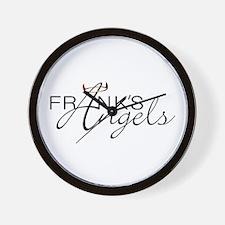 Unique Frank black Wall Clock