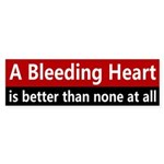 A Bleeding Heart Bumper Sticker