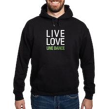 Live Love Line Dance Hoodie