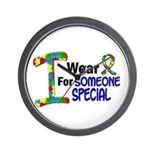 I Wear Puzzle Ribbon 21 (Someone Special) Wall Clo